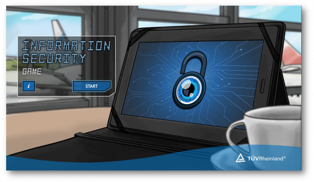 Preview image for training Information Security-Awareness Game -DEMO