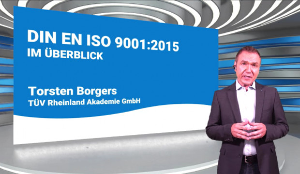 Preview image for training DIN EN ISO 9001:2015 Überblick - Online-Training